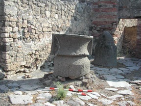 Mill in a Commercial Bakery, Pompeii