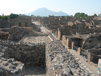 Road to Vesuvius